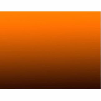 orange top dark bottom gradient custom background photo sculptures
