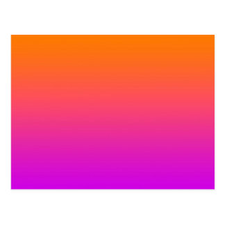 orange top purple bottom gradient DIY background Postcard
