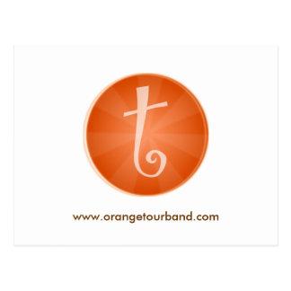 Orange Tour Postcard