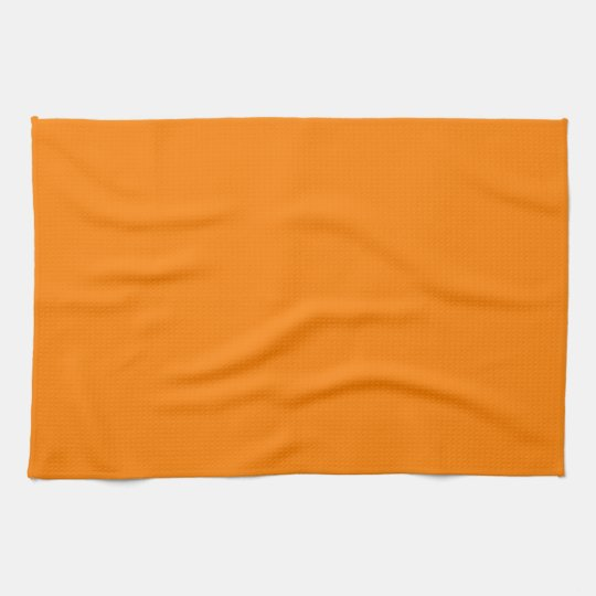 Orange Towel