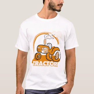 Orange Tractor Tshirts and Gifts