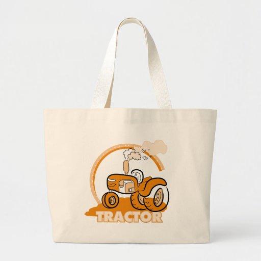 Orange Tractor Tshirts and Gifts Jumbo Tote Bag
