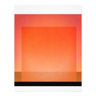 Orange Transparent Events Template Flyer