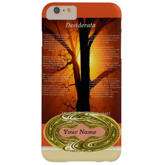 Orange Tree Barely There iPhone 6 Plus Case