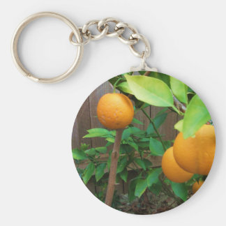 Orange Tree Keychain