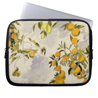 Orange Trees, 1863 (w/c, pen and ink over graphite Laptop Computer Sleeve