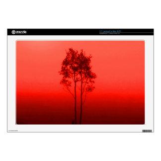 "Orange Trees Zazzle Skin 17"" Laptop Decals"