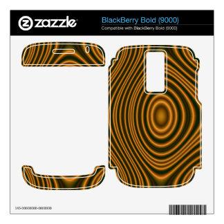 orange trendy pattern skins for BlackBerry bold