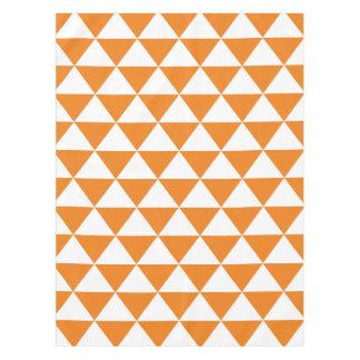 Orange Triangle Pattern Tablecloth