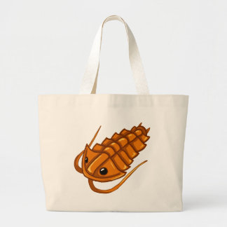 Orange Trilobite Canvas Bags