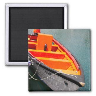 Orange Triumph 2 Inch Square Magnet