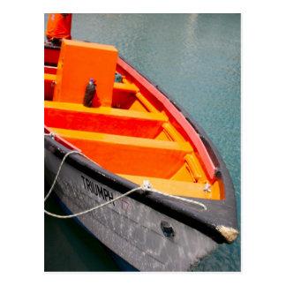 Orange Triumph Postcard