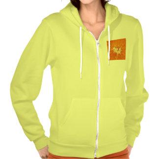 orange hooded pullovers