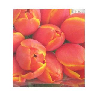 Orange Tulip Note Pads