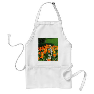 Orange Tulip On Multiple Products Adult Apron