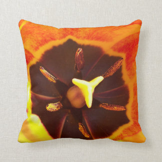 Orange Tulip Pillow