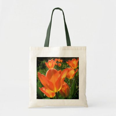 Orange Tulips Bag