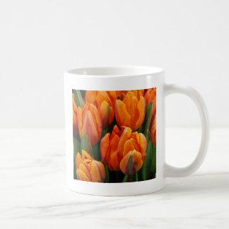 Orange Tulips Flower Garden Spring Coffee Mug