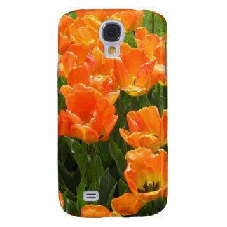 Orange Tulips Samsung S4 Case