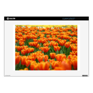 Orange Tulips Skin For Laptop