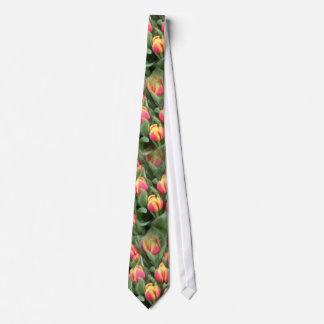 Orange Tulips Tie
