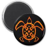 Orange Turtle Magnets