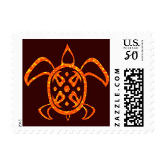 Orange Turtle Stamps