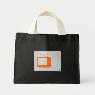 Orange TV Tote Bags
