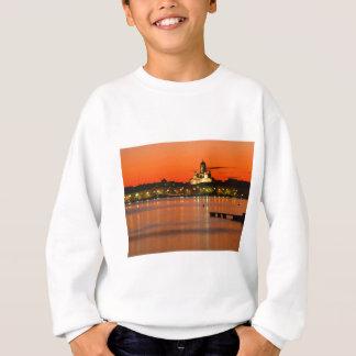 Orange Twilight, Helsinki, Finland Sweatshirt