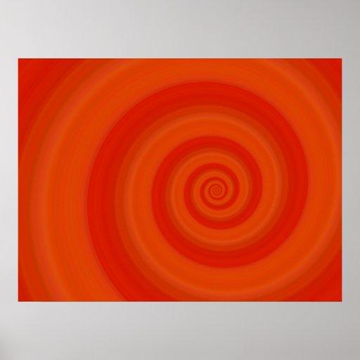 Orange Twist Posters