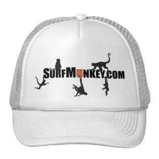 "Orange ""U"" in Hanging Munkeys design Trucker Hat"