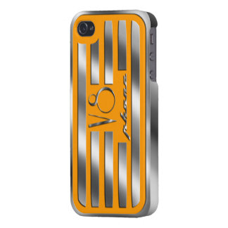 Orange Valve Cover iPhone V8 Case