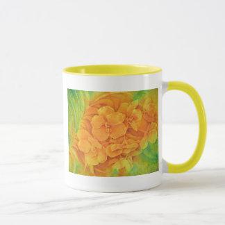 Orange Vanda Mug