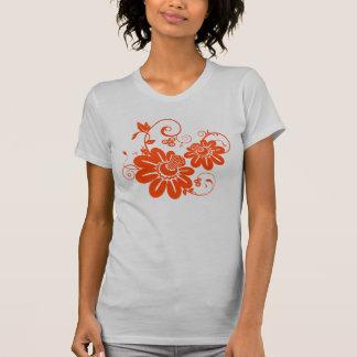 orange vector flowers T-Shirt