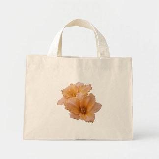 Orange Velvet Daylily Mini Tote Bag
