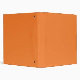 Orange Vinyl Binder