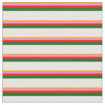 [ Thumbnail: Orange, Violet, Red, Dark Green & White Colored Fabric ]