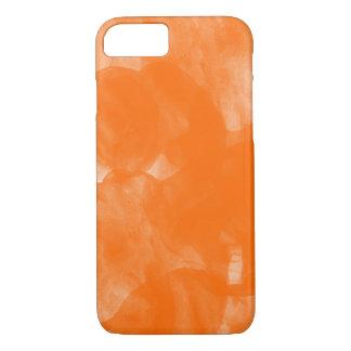 orange water color paint iPhone 7 case