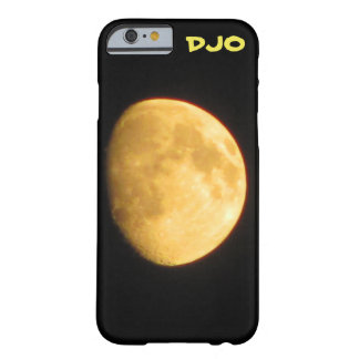 Orange Waxing Moon Barely There iPhone 6 Case