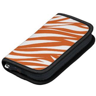 Orange White Animal Stripe Pattern 2 AS Organizers