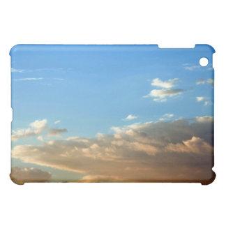 Orange & White Clouds against Blue Sky case Case For The iPad Mini