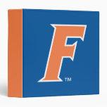 Orange & White Florida F Logo Binders