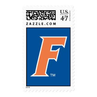 Orange & White Florida F Logo Postage