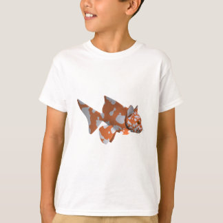 Orange-White Spotted Catfish T-Shirt