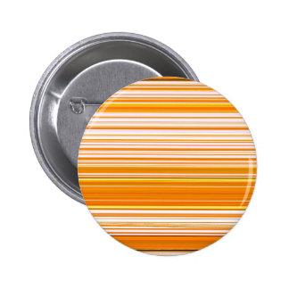 Orange White Yellow Pink Stripe Pattern Button