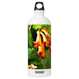 Orange Wildflower artwork SIGG Traveler 1.0L Water Bottle