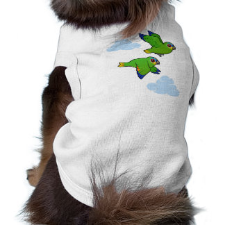 Orange-winged Parrots in Flight Pet Clothes
