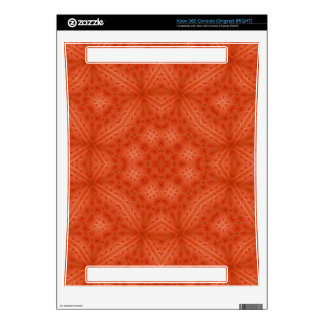 Orange wood abstract pattern xbox 360 skins