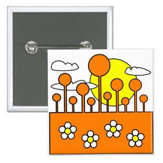 Orange World Button