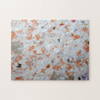 Orange Wrapping Paper Jigsaw Puzzle